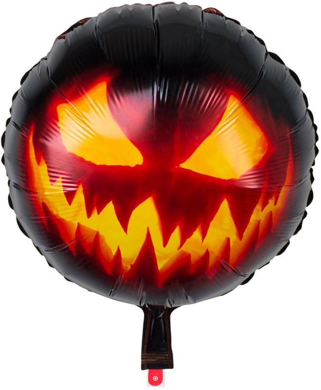 Folieballon Scary Pumpkin