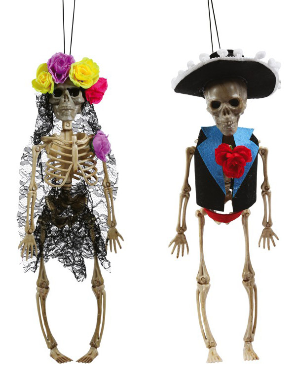 Day of the Dead skelet 40cm