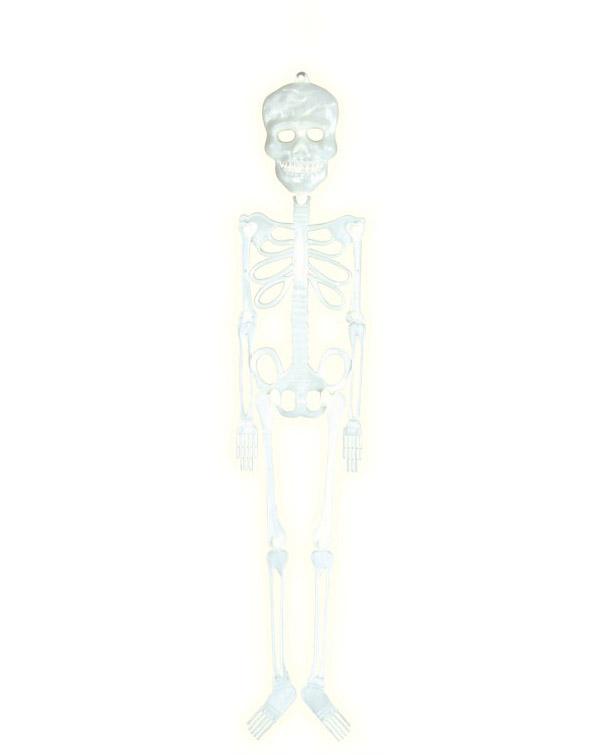 Skelet selvlysende ca. 56cm