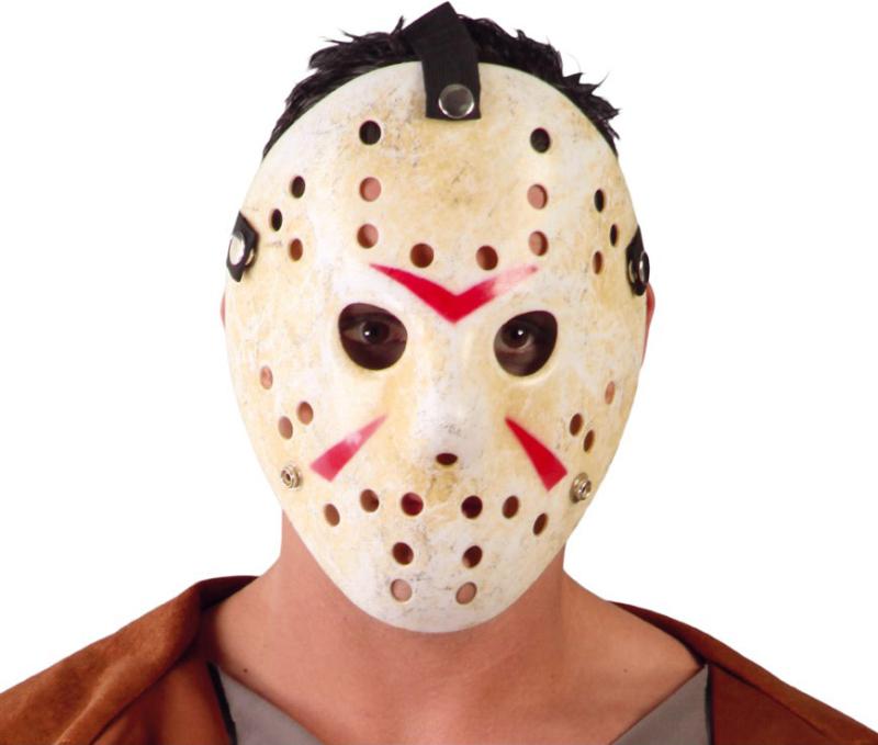 Hockey maske patineret