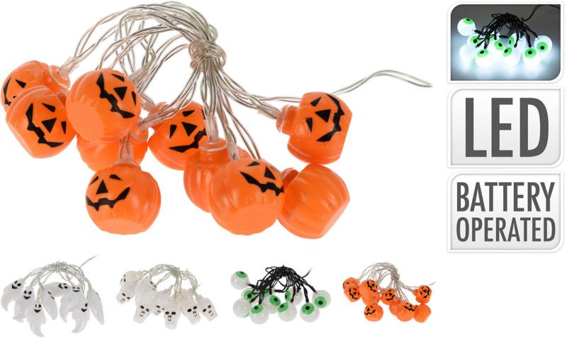 Halloween lyskæde 10 LED