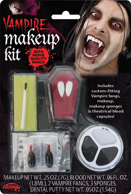 Vampyr make up sæt