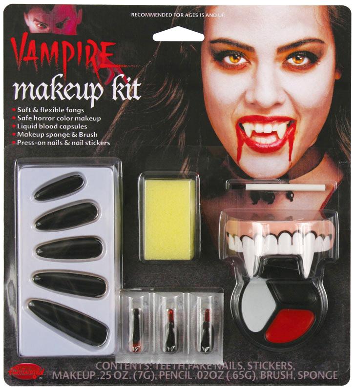 Vampyr kvinde makeup kit