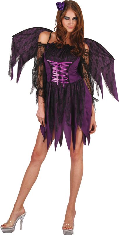Hot Devil kostume, lilla
