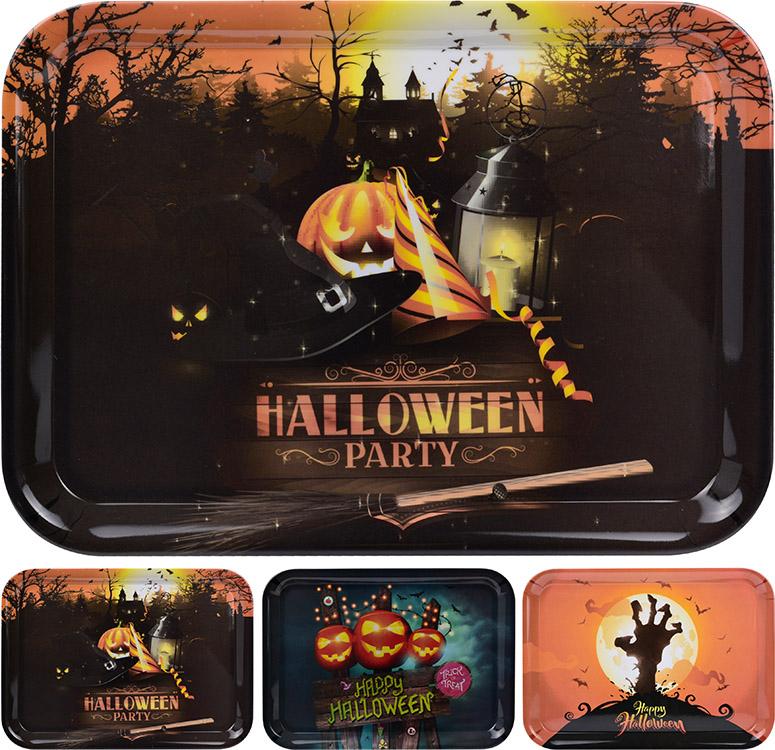 Halloween serveringsbakke