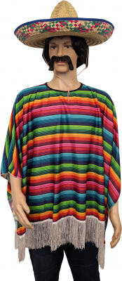 Mexicansk poncho, regnbue