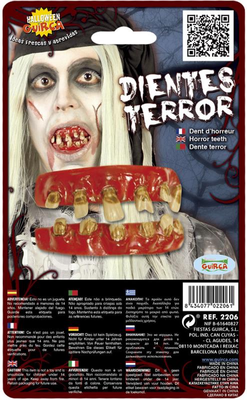 Zombie tænder, 2 dele