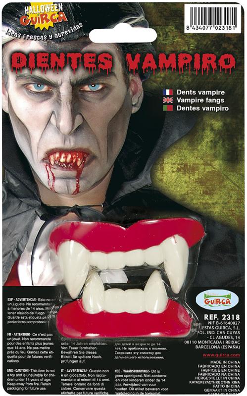 Vampyr tænder store, 2 dele