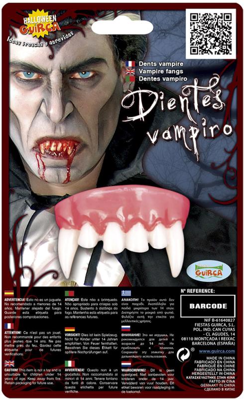 Vampyr tænder, overmund