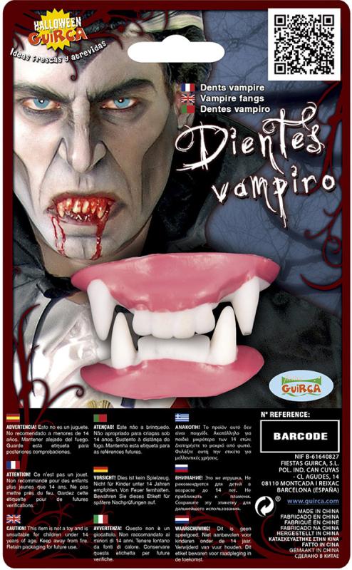 Vampyr tænder, 2 dele